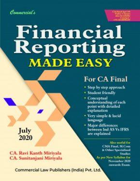 CA Final Group 1 Paper 1 Financial Reporting Made Easy - Ravi Kanth Miriyala Sunitanjani Miriyala