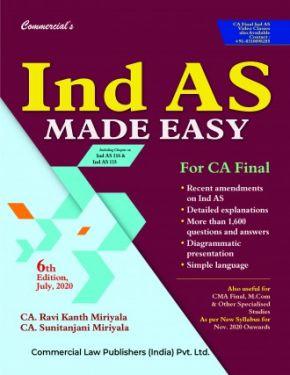 CA Final Group 1 Paper 1 Ind AS Made Easy Covering IFRS - Ravi Kanth Miriyala Sunitanjani Miriyala