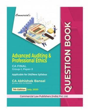 CA Final Group 1 Paper 3 Advanced Auditing and Professional Ethics Question Bank - Abhishek Bansal