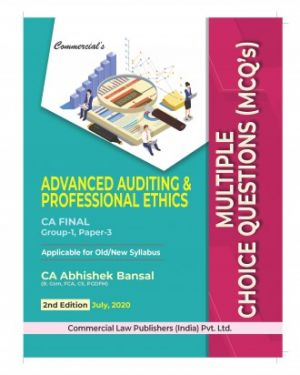 CA Final Group 1 Paper 3 Advanced Auditing and Professional Ethics Multiple Choice Questions (MCQ's) - Abhishek Bansal