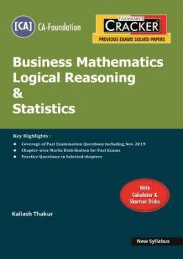 CA Foundation Paper 3 Business Mathematics Logical Reasoning and Statistics Cracker - Kailash Thakur