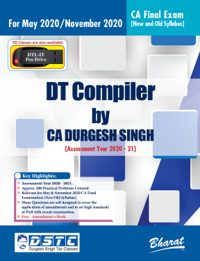 CA Final Group 2 Paper 7 Direct Tax Compiler - Durgesh Singh