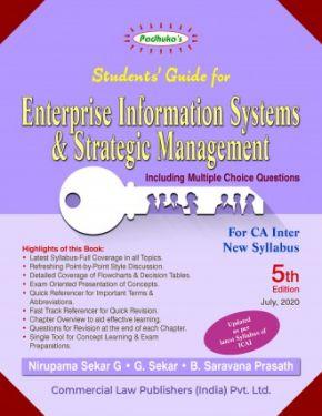 CA Inter Group 2 Paper 7 Padhuka's Students Guide for Enterprise Information Systems and Strategic Management - Nirupama Sekar G., G. Sekar B. Saravana Prasath