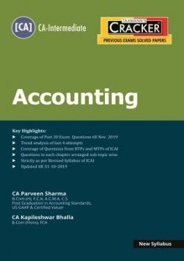 CA Inter Group 1 Paper 1 Accounting Cracker- Kapileshwar Bhalla  Parveen Sharma