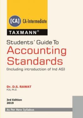 CA Inter Group 1 Paper 1 Students Guide To Accounting Standards - D.S.Rawat