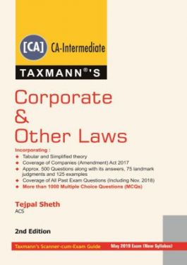 CA Inter Group 1 Paper 2 Corporate and Other Laws - Tejpal Sheth