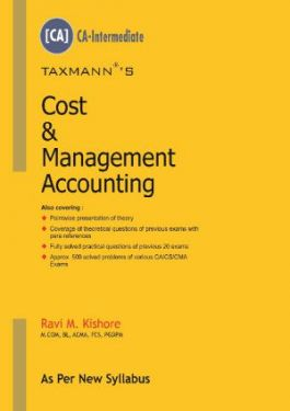 CA Inter Group 1 Paper 3 Cost and Management Accounting - Ravi M. Kishore