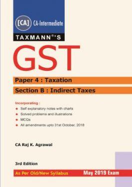 CA Inter Group 1 Paper 4 GST - Raj K Agrawal