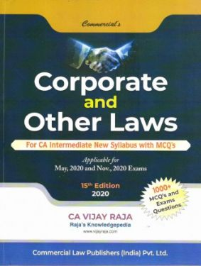CA Inter Group 1 Paper 2 Corporate and Other Laws - Vijay Raja