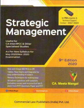 CA Inter Group 2 Paper 7 Strategic Management - Meeta Mangal