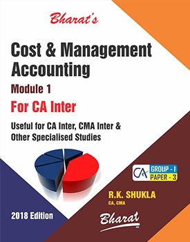 CA Inter Group 1 Paper 3 Cost and Management Accounting - R K Shukla