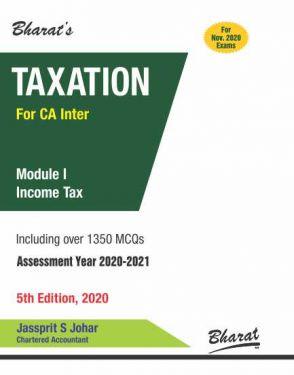 CA Inter Group 1 Paper 4 Taxation Module I Income Tax - Jassprit S. Johar