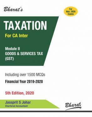 CA Inter Group 1 Paper 4 Module II Goods & Services Tax - Jassprit S. Johar