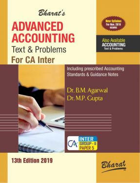 CA Inter Group 2 Paper 5 Advanced Accounting Text and Problems - B.M Agarwal, M.P. Gupta