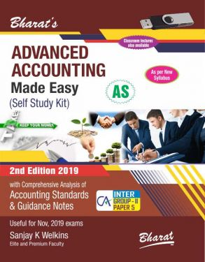 CA Inter Group 2 Paper 5 Advanced Accounting Made So Easy (Self Study Kit) - SANJAY K WELKINS