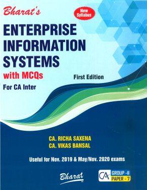 CA Inter Group 2 Paper 7 Enterprise Information Systems - Richa Saxena & Vikas Bansal