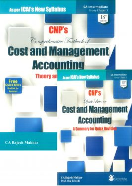 CA Inter Group 1 Paper 3 Comprehensive Textbook of Cost and Management Accounting Theory and Practice - Rajesh Makkar
