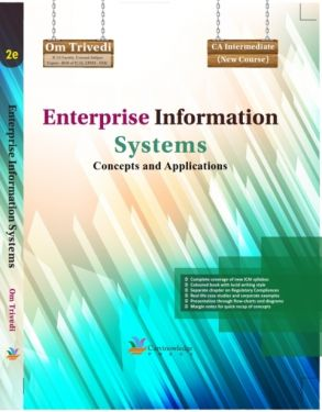 CA Inter Group 2 Paper 7 Enterprise Information Systems Concept and Applications  - OM Trivedi
