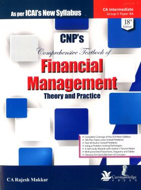 CA Inter Group 2 Paper 8 Comprehensive Textbook of Financial Management - Rajesh Makkar