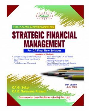 CA Final Group 1 Paper 2 Padhuka's Students Referencer on Strategic Financial Management - G. Sekar B. Saravana Prasath